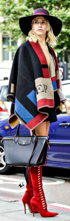 Burberry Poncho | The House of Beccaria~
