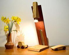 Lampe in Sipo und Lärche, LED 5 Watt Beleuchtung: AMARO