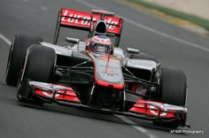 Jenson Button in the McLaren Mercedes at Melbourne 2012.
