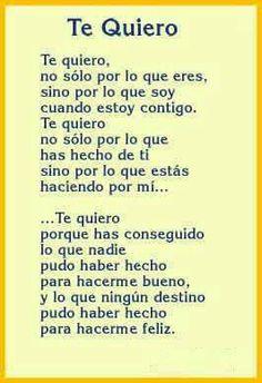 De que te quiero, te quiero!!!