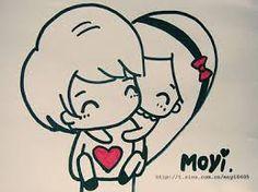 Resultado de imagem para desenhos de namorados apaixonados se beijando