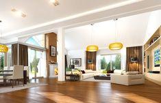 Проект дома «Парковая резиденция 2» представительского класса, напиминает стиль строения французских и американских пригородных резиденций Divider, Villa, Ceiling Lights, House, Furniture, Home Decor, Decoration Home, Home, Room Decor
