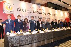 El Oficial Mayor del Gobierno del Distrito Federal, Mtro. Edgar Armando González Rojas, celebró a los abogados en el evento precedido por el Jefe de Gobierno del Distrito Federal, Dr. Miguel Ángel Mancera Espinosa.