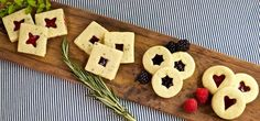 handcrafting delicious, inventive, and high-quality baked goods Cafe Bar, Linzer Tart, Food Catalog, Shapes Biscuits, Marionberry, Good Food, Yummy Food, Strawberry Jam, Sandwich Cookies