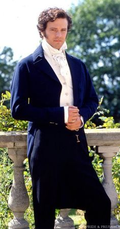 Colin Firth as Mr Darcy, BBC adaptation of Pride and Prejudice (1995).  Phwoar!!!!