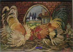 Combattimento tra galli - Antonio Ligabue