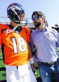 Denver Broncos Star Peyton Manning and Colorado Rockies Star Todd Helton are both of former Tennessee Vols. Now, They are retirement ! Same  Tennessean and Coloradan !