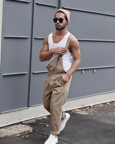 I wonder if overalls will still be a #menswear #trend in Spring? #fblogger