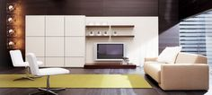Minimalist Interior Design With Modern House Design Style by Pianca Living Room Photo