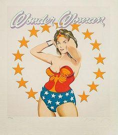 Mel Ramos - Wonder Woman  http://myartblogcollection.blogspot.ca/2015/04/mel-ramos-wonder-woman.html