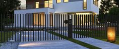 Driveway, pop up gate and fence - Fancy Fence