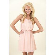 EVERLY: Sugar and Honey Dress-Rose - $44.00 www.reddressboutique.com