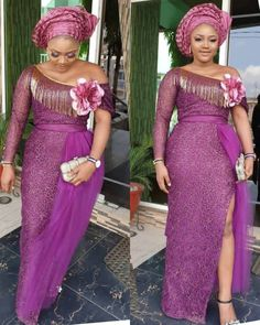 Hello we bring you 2019 latest Aso Ebi collection to try out for you next event.This Aso Ebi comes from the latest dresses made by the latest fashion designers around with quality colors and stylish a Aso Ebi Lace Styles, African Lace Styles, Latest Aso Ebi Styles, Lace Dress Styles, African Lace Dresses, Latest African Fashion Dresses, African Dresses For Women, African Print Fashion, African Attire