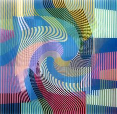 Yaacov Agam - Israeli Sculptor and Experimental Artist Best Known for his Contributions to Optical and Kinetic Art Chuck Close, Renoir, Manet, Contemporary Artists, Modern Art, Abstract Pattern, Abstract Art, Yaacov Agam, Kinetic Art
