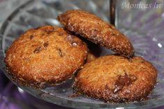 monicabj - Monicas liv blogg: Oppskrift: Peanøttcookies med sjokolade