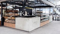 Laura's Bakery designed by Johannes Torpe Studios #Laura's #Bakery #Design #Food #Torvehallerne