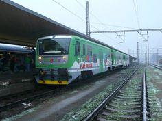 Do provozu na linku se dostal i náš Cyklohráček Four Square, Trains, Train