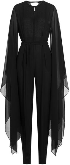 Casting spells and Serving DRAMA. Emilio Pucci Silk Jumpsuit