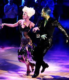 "Dancing With the Stars - Val Chmerkovskiy (the eel) & Rumer Willis (Ursula) danced an outstanding samba to Poor Unfortunate Souls from Disney's ""The Little Mermaid"" - Season 20 - Week 5 - spring 2015 - score - 10+9+10+10 = 39"