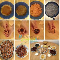 Huda's Welten Blog - مدونة عالم هدى: Rezept für Kibbeh - Syrische Spezialität