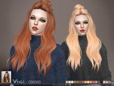 Woman Hair _ Bun Hairstyle Fashion The Sims 4 _ - The Sims 4 Love Life Miracles Asia Viet Nam Sims 4 Cas, Sims Cc, Bun Hairstyles, Female Hairstyles, Sims 4 Piercings, Around The Sims 4, Sims Hair, Sims Resource, Sims Mods