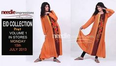 Needle Impressions Pert Collection For Eid 2013