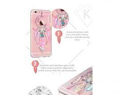 Ručne-vložené-kryštáliky-zaručia-eleganciu-Vášmu-mobilnému-telefónu Mobiles, Apple Iphone, Map, Mobile Phones, Location Map, Maps