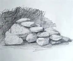 how to draw realistic rocks - Google Search