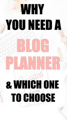 You need a blog plan