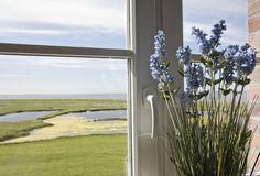 Was für ein #Ausblick. Einfach herrlich..♥ #Hallig #langeness #reisen #Hotel #Wellness #ankershörn #Nordsee #urlaub