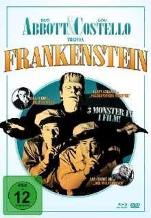 Abbott & Costello treffen Frankenstein (Blu-ray & DVD im Mediabook), Blu-ray Disc