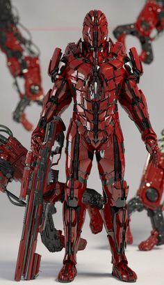 Robot Mech Suit.