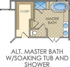 Bathroom layouts on pinterest bathroom floor plans for Bathroom and closet combo floor plans
