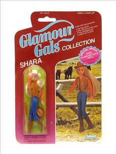 Kenner Glamour Gals Collection Shara Doll Carded 1981