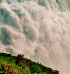 Near the Base of American Falls, Niagara falls, Ontario