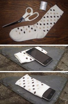Diy phone case sewing ipod touch Ideas for 2019 Diy Case, Diy Phone Case, Iphone Cases, Iphone 6, Pochette Diy, Diy Pencil Case, Diy Home Decor Rustic, Sewing Projects, Diy Projects