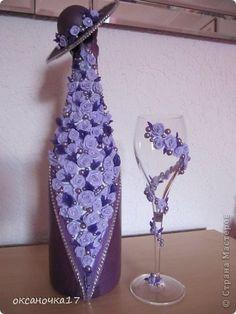Декор предметов День рождения дополнение к бутылочке фото 1