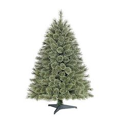 4.5' Unlit Cashmere Spruce Table Top Tree