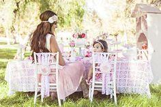An AMAZING mommy & me birthday tea party via Kara's Party Ideas!