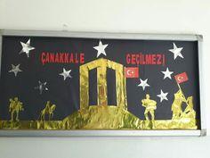 18 Mart Çanakkale Zaferi Konu Başlıklı Pano Çalışmamız...
