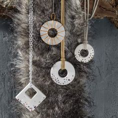 Concrete Jewelry DIY