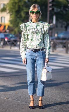 Paris from Street Style: Denim