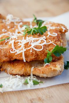 A simple and delicious recipe for cheesy crumbed chicken. Ready in less than 10 minutes and best served hot with fresh lemon.