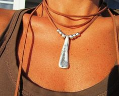 Hey, I found this really awesome Etsy listing at https://www.etsy.com/listing/287353011/wrap-necklace-minimal-necklace-boho