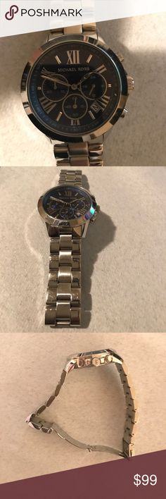 Michael Kors Men's stainless steel watch Great watch but the battery is dead so if you are willing to replace it, the price is a steal! KORS Michael Kors Accessories Watches