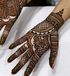 Henna Design For Girls