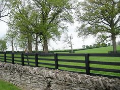 Beautiful and safe fencing for horses
