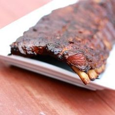 Smoked Pork Ribs on a Masterbuilt Electric Smoker. Recipe by Bobby Flay - Smoked Pork Ribs on a Masterbuilt Electric Smoker. Recipe by Bobby Flay - Slow Cooking, Smoker Cooking, Cooking Ribs, Cooking Turkey, Smoked Meat Recipes, Rib Recipes, Grilling Recipes, Game Recipes, Traeger Recipes
