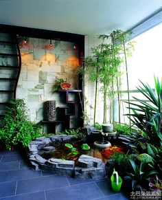 Room Deluxe balcony design effect chart appreciation