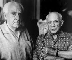 En 1909 Braque y Picasso estrechan su amistad y consiguen desarrollar la nueva tendencia. Juntos crearon las dos tendencias del cubismo. La primera es el cubismo analítico (1909-1912), en donde la pintura es casi monocroma en gris yocre. La segunda es el cubismo sintético (1912-1914). En ésta, Picasso y Braque comenzaron a incorporar material gráfico como páginas de diario y papeles pintados, técnica que se conoce como collage.
